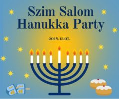 Thumbnail image for HANUKKA PARTY • 2018.12.07. (péntek) 18:00